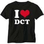 """Shirt """"I love dct"""""""