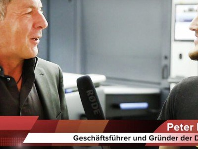 Peter Pratsch im Interview mit BBC TV