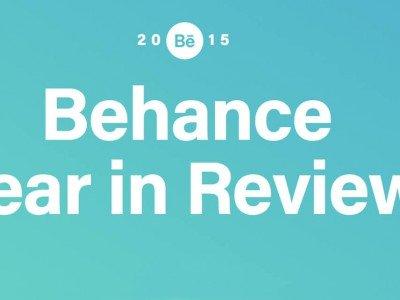 behance 2015 jahresrueckblick