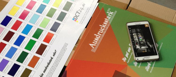 Kundenmagazin Ausdrucksstark in der DCT Produktion