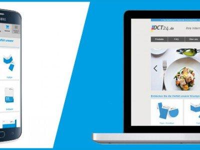 DCT24 Onlinedruckerei Neu