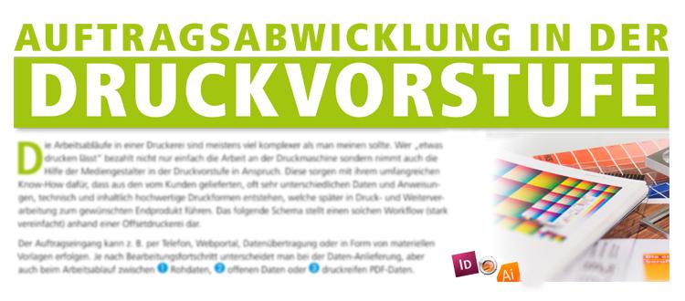 Druckworkflow