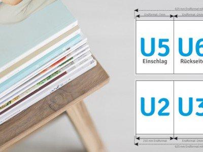 Broschuere Umschlag 6 Seiten DCT