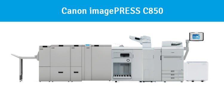 Canon C850 mit integriertem Booklet Maker System